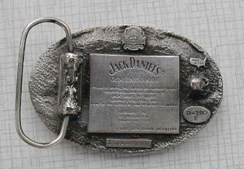 jack daniels old no 7 gürtelschnallen d-190